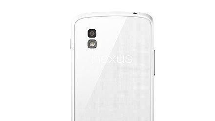 فتح الطلب على الهاتف Nexus 4 الأبيض وبمبر مجاني