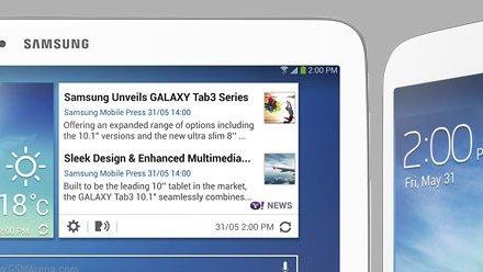SAMSUNG تكشف عن جهازين لوحيين ضمن فئة Tab 3