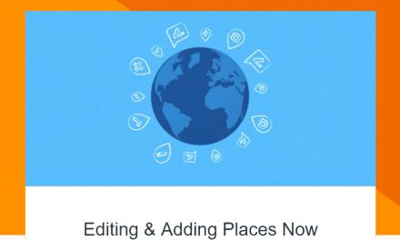 التحديث الجديد لإضافة وتحرير الأماكن فى تطبيق خرائط جوجل