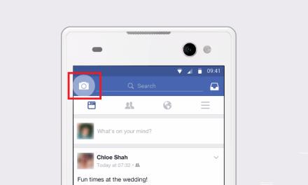 تحديث جديد لكاميرا #فيسبوك بمميزات مطابقة لكاميرا سناب شات