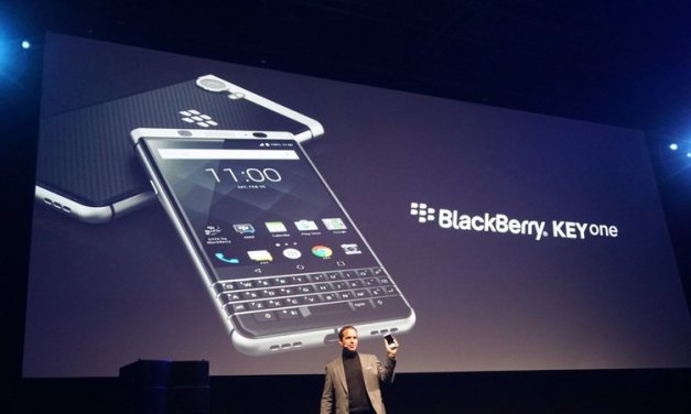 MWC 2017 : رسميا #TCL تكشف عن هاتف  BlackBerry KeyOne #