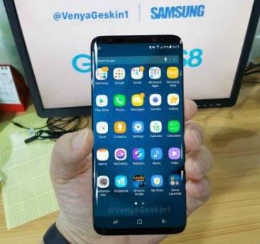 صور مسربة حقيقية  تكشف عن تصميم هاتف #سامسونج Galaxy S8 المرتقب