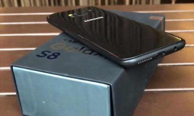 أول #فيديو يقدم إستعراض #لمستشعر البصمة على Samsung Galaxy S8#