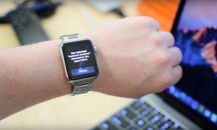 استخدم Apple Watch لفتح جهازك بنظام macOS