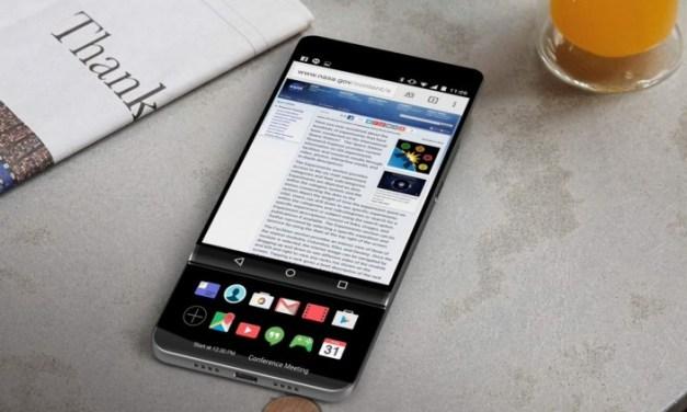 صور مسربة تكشف هاتف LG_V30# بشاشتي عرض