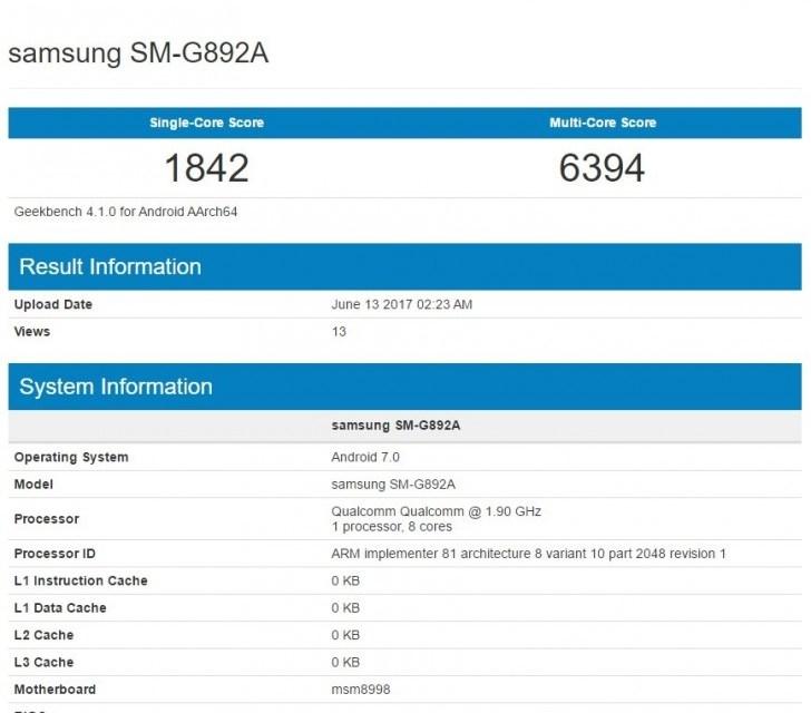 موقع Geekbench يكشف عن هاتف #Galaxy_S8_Active