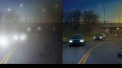 """صورة من الشكاوى العينية الشائعة"""" أضواء السيارات بالليل تزعجني وتمنعني من الرؤية بوضوح"""