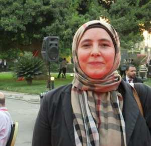 الاعلامية إيمان الحسيني