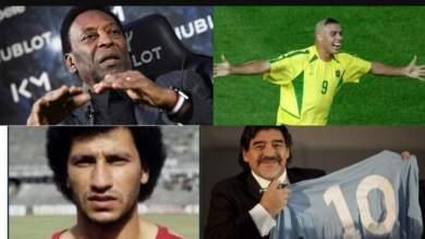 صورة بينهم 5 لاعبين عرب.. تعرف على أعظم 48 أسطورة في تاريخ كرة القدم