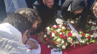 """صورة بالصور """"منذر رياحنة في تونس لتشييع المخرج شوقي الهاجري"""