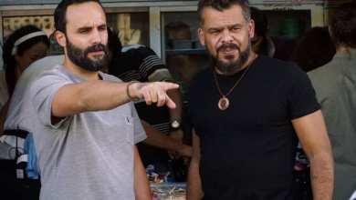 """صورة منذر رياحنة """"من كواليس تصوير الفيلم الأردني الزقاق"""