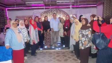 """صورة رضا سكر"""" داعما أعضاء جمعية سحر الحياة في مطلع أكتوبر الوردي"""