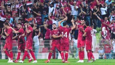 صورة بالتفاصيل .المنتخب السوري يواجه نظيره الصيني غداً في الإمارات