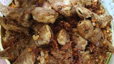 صورة الأرز البخاري بالسمك