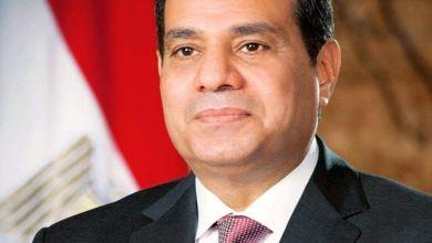 صورة السيسى : مصر ستعبر كل هذه اللحظات العصيبة