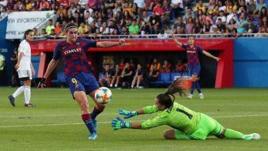 صورة سيدات برشلونة يتوّجن بلقب دوري الأضواء الإسباني
