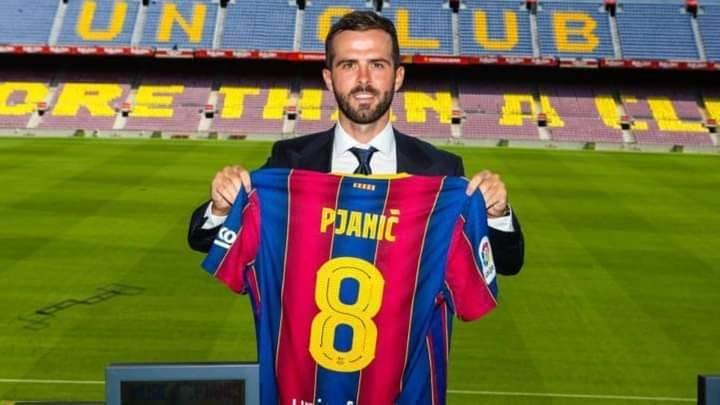 بيانيتش سعيد باللعب إلى جوار ميسي في برشلونة