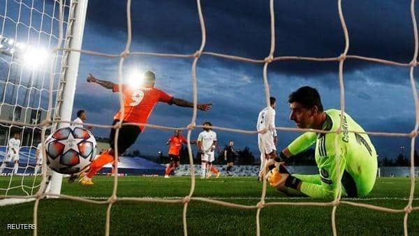 ريال مدريد يخسر بالثلاثة أمام شاختار الأوكراني