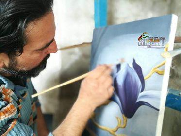 """النحات والرسام""""محمد علي محمد"""" النحتُ على الحجر الأصم ينعشهُ ويبثُ فيه روحاً"""