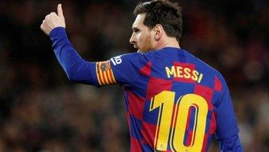 صورة جماهير برشلونة تصدم ميسي عقب التعادل مع ألافيس