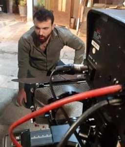 """""""حيدر أحمد """"موسم حافل مابين السينما والإعلان والتلفزيون"""