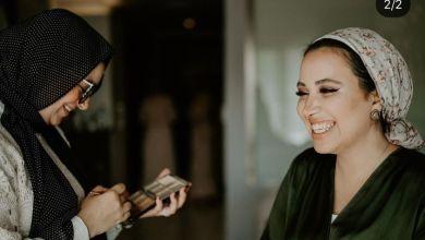 صورة أنسب طريقة لوضع المكياج للبشرة الدهنية من مريم مخلوف