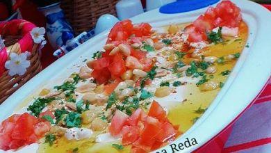 """صورة طبخات بنت الشام""""الحمص بالبدوة والسمنة"""""""