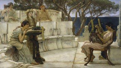 """صورة الأدب اليوناني """"أدب هيللينستى"""""""