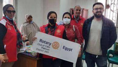 صورة زيارة نادي روتاري كايرو بلاتنم مستشفى العباسية للصحة النفسية