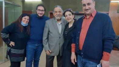 """صورة مظهر الحكيم """"تمثيلية الأسبوع أجيال نص ممتع و جميل ..تابعونا كل أربعاء على إذاعة دمشق"""