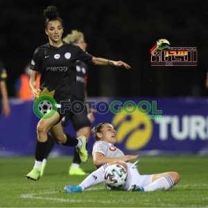 مريم حويج أول لاعبة كرة قدم عربية تشارك في دوري أبطال أوروبا للسيدات