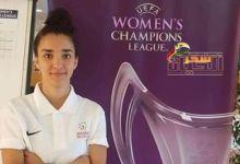 صورة مريم حويج أول لاعبة كرة قدم عربية تشارك في دوري أبطال أوروبا للسيدات