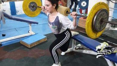 """صورة السورية جوليا موسى بطلة القوى البدنية"""" الرياضة بالنسبة لي أسلوب حياة"""""""