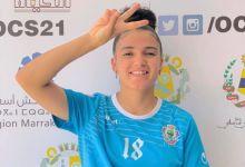 """صورة ضيفة عربية لاعبة كرة القدم المغربية صوفيا المياص"""" لاتوجد صعوبة مع العمل والاجتهاد"""""""