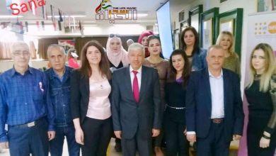 صورة إتحاد عمال دمشق يقيم ندوة طبية حول سرطان الثدي في مالية دمشق