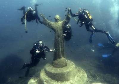 Immersioni Portofino: Mohawk Deer e Cristo degli Abissi 21-6-2015