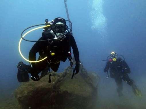 Immersione Bergeggi 24 Ottobre 2015