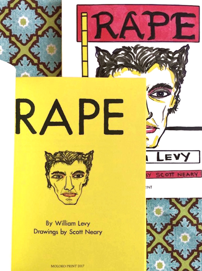William Levy - RAPE (with drawings by Scott Neary)