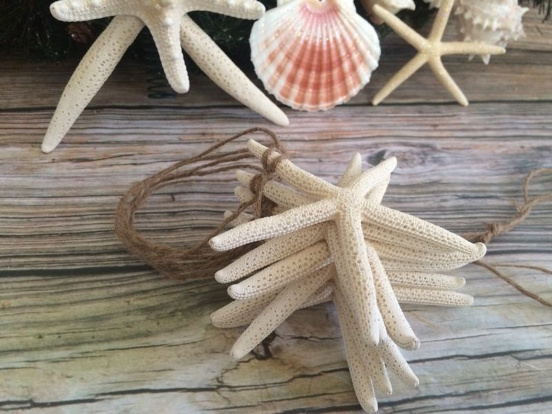 Double Skinny Starfish Tree Topper