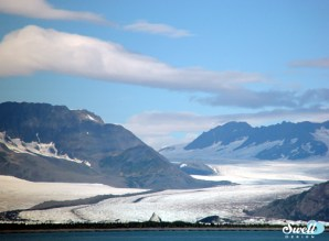 Bear Glacier, in Resurrection Bay.