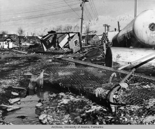 Seward, Alaska earthquake, 1964