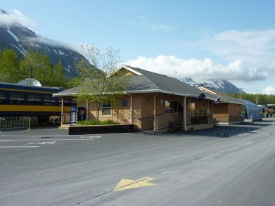 Railway Station, Seward, Alaska