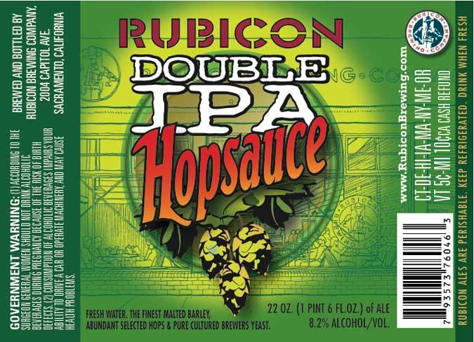 Rubicon Double IPA Hopsauce