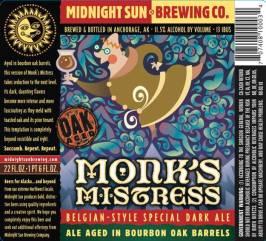 Monk's Mistress Belgian-Style Special Dark Ale