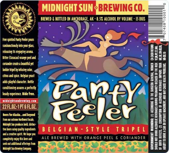 Panty Peeler Belgian-Style Tripel with Orange Peel