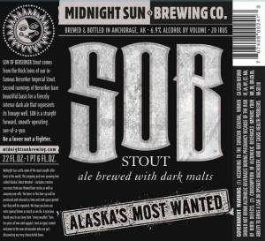 SOB Stout Ale with Dark Malts