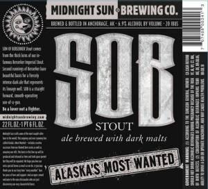 SOB Stout Ale with Dark Malts