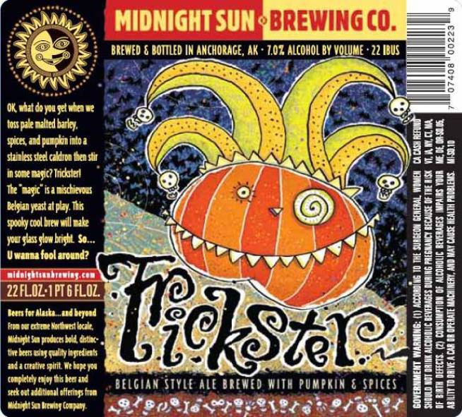 Trickster Belgian-Style Ale with Pumpkin & Spices