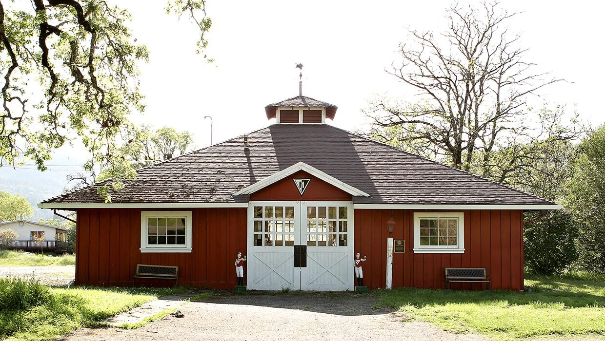 seabiscuit barn