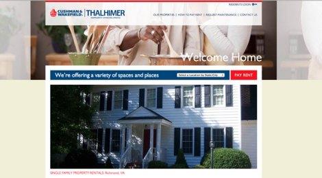 Portfolio: Cushman & Wakefield | Thalhimer: Residential Property Management